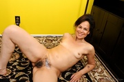mature brunette with small