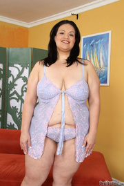 black haired bbw black