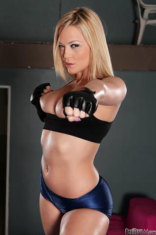 big breasted blonde tasting