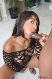 high heeled ebony black
