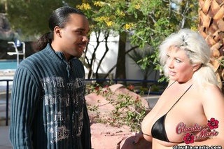 interracial sex scene featuring