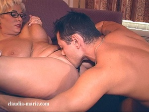 Meaty blonde spreads her legs in a hotel room for an Asian - XXXonXXX - Pic 3