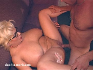 Meaty blonde spreads her legs in a hotel room for an Asian - XXXonXXX - Pic 6