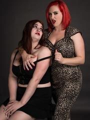 Thick brunette and redhead sluts strips to show - XXXonXXX - Pic 1
