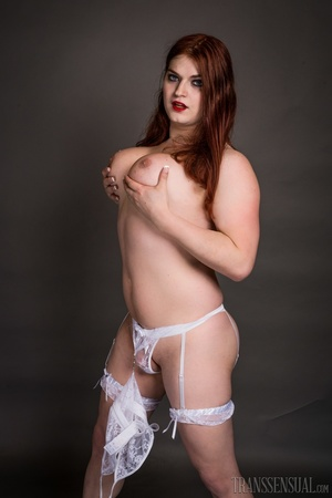 Thick brunette and redhead sluts strips to show their big tits - XXXonXXX - Pic 7
