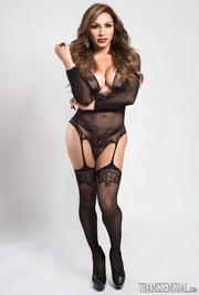 sultry shemale full black