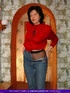 Lusty granny strips off her red shirt and jeans then displays her mature