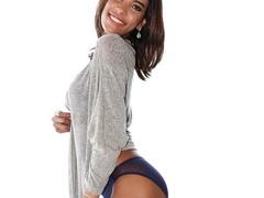Exotic girl in lingerie teases her hard dick in - XXXonXXX - Pic 3