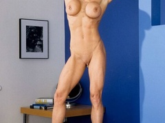 Muscular granny pose naked and reveals her big - XXXonXXX - Pic 11