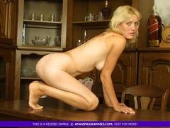 Naked granny displays her banging body with lusty - XXXonXXX - Pic 11