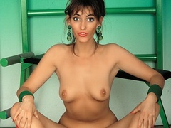 Alluring MILF teases with her luscious tits and - XXXonXXX - Pic 1
