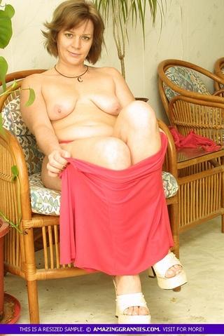 indulging babe takes pink