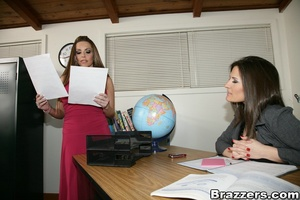 Student gest lucky and enters a three way with two hot teachers - XXXonXXX - Pic 11