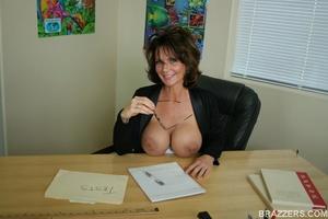 office deauxma Big tit