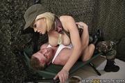 big tits blonde sniper
