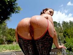 Trimmed pussy French brunette enjoys deep anal sex - XXXonXXX - Pic 8