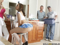 Brown-haired Latina teen gets fucked in front of a - XXXonXXX - Pic 6