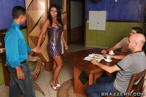Indian brunette gets her asshole penetrated from behind - XXXonXXX - Pic 5