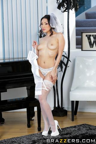 asian bride oiled massage