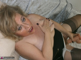 big titted blonde milf