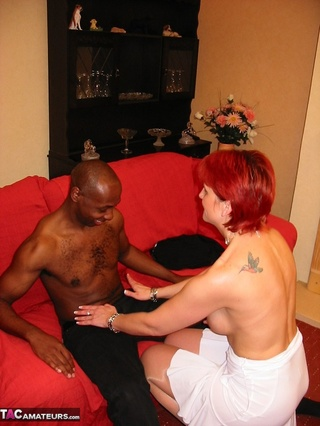 slim redheaded cougar shaved