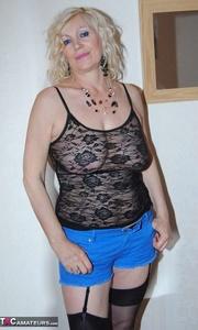 floppy breasted granny styles