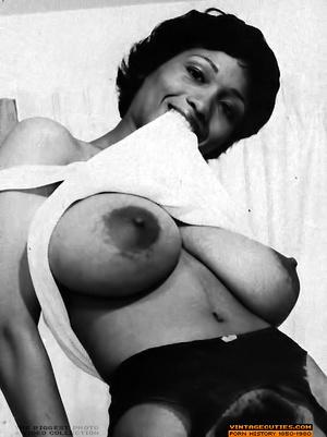 Sexy black bitch in white lingerie flaun - XXX Dessert - Picture 2