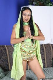 long haired indian bimbo