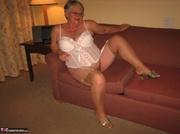 nice elderly blonde with