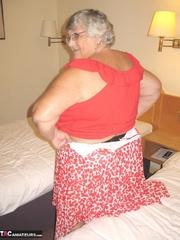 enchanting platinum blonde grandma