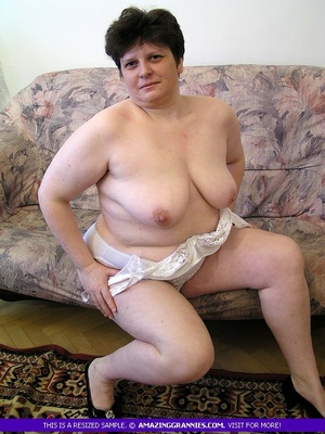 in underwear pics fat grannies