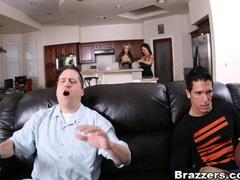 Nasty guy sneaks in and fucks two curvy bitches - XXXonXXX - Pic 10