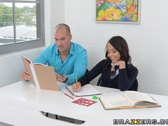 Short school girl goes to her professor to check - XXXonXXX - Pic 4