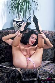 black haired milf big