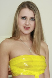 dressed yellow this blonde