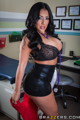 black haired physician juicy