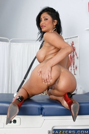 hot indian doctor red