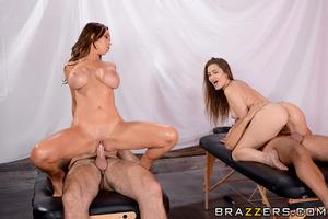 Horny brunette babes - XXXonXXX - Pic 13
