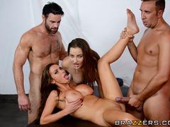 Horny brunette babes - XXXonXXX - Pic 16