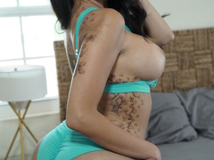 Hot latina star with big tits pounded by a fat - XXXonXXX - Pic 10