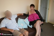 hot granny teases her