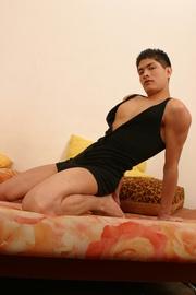 asian boyfriend giving blowjob