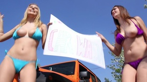 Rich brat with an expensive ride gets to fuck the ladies washing his car - XXXonXXX - Pic 7
