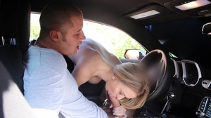 Rich brat with an expensive ride gets to fuck the ladies washing his car - XXXonXXX - Pic 11