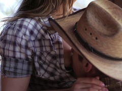 Hot sexy babe in the horse range is being fucked - XXXonXXX - Pic 5