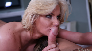 He works his wet tongue into her pussy and asshole, making her writhe and moan - XXXonXXX - Pic 4