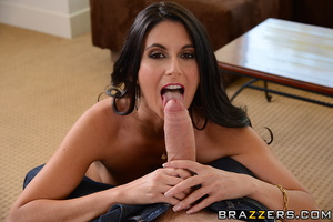 Brunette housewife brings in a young guy to get fucked from behind. - XXXonXXX - Pic 7