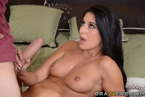 Brunette housewife brings in a young guy to get fucked from behind. - XXXonXXX - Pic 16