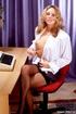 steaming hot blonde secretary