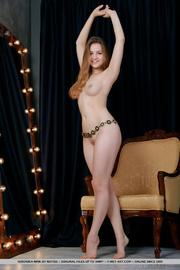 busty brunette sexy belt